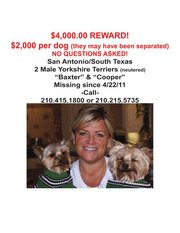 Find Baxter & Cooper, San Antonio, TX. Stolen during home burglary.