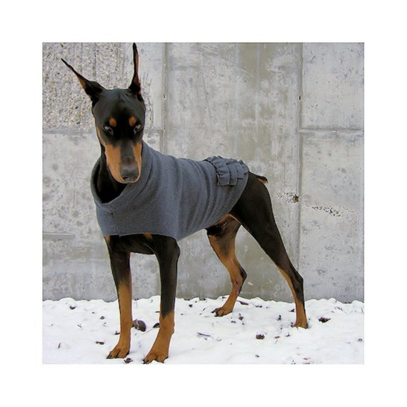 Ruffle Rump Dog Sweater