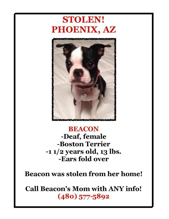Beacon stolen in Phoenix AZ-1